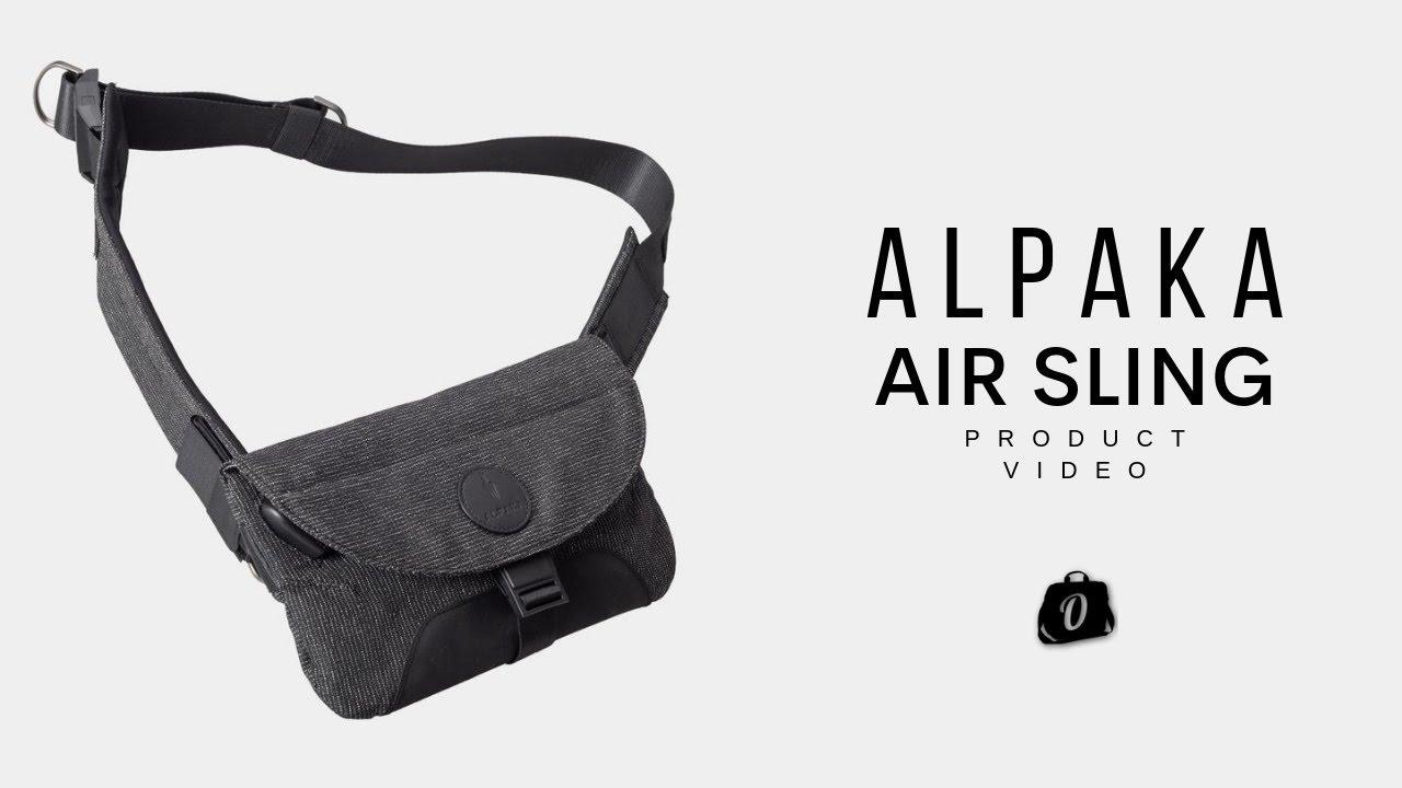 Alpaka Air Sling for Men black