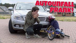 Kind auf Fahrrad angefahren - Prank!
