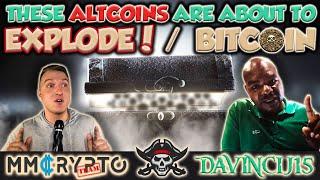 """Davincij15 - """"THIS ALTCOINS / CRYPTO ABOUT TO EXPLODE!""""   BITCOIN"""