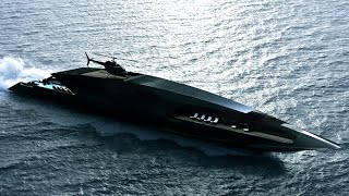 Timur Bozca's Black Swan superyacht features a stunning design