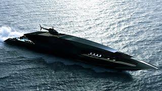 Timur Bozca's Black Swan superyacht features a stunning design