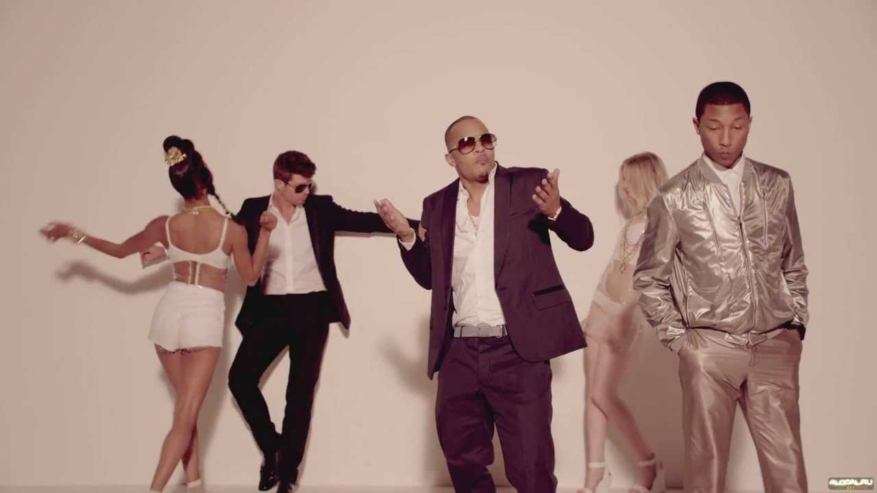 Скачать mp3 robin thicke blurred lines