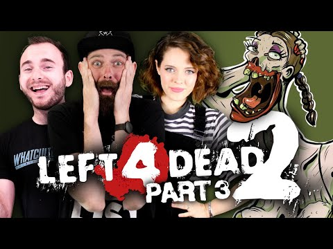 Left 4 Dead 2 PART 3 With Jules, Kirsten, And Rich!   WhatCulture Gaming LIVE