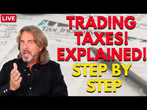 Trading Taxes EXPLAINED! Step-by-Step | Coffee With Markus Episode 52