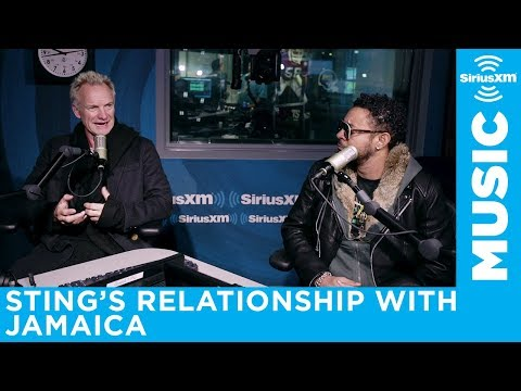 Sting describes his relationship with Jamaica