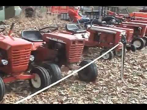 New Wheel Horse Tractor Doovi