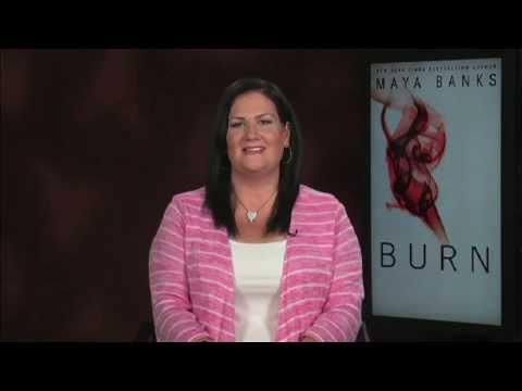 "Shayr's Hot Reads - Maya Banks ""Burn"" Interview"