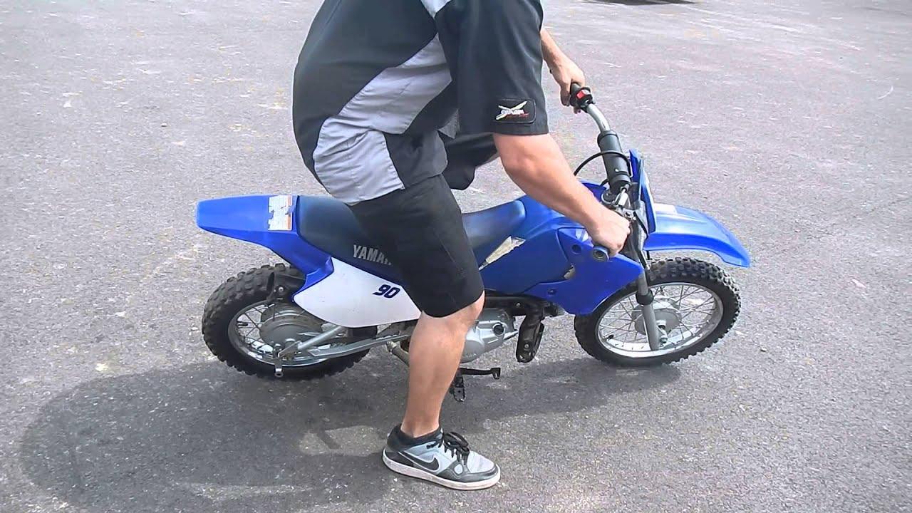 2000 Yamaha TTR90 Dirt Bike