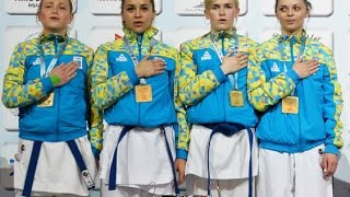FINAL - FEMALE TEAM KUMITE - UKRAINE - TURKEY - 52ND EKF SENIOR CHAMPIONSHIPS
