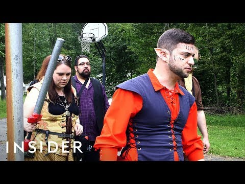 What Is LARPing? (Live Action Role Playing)