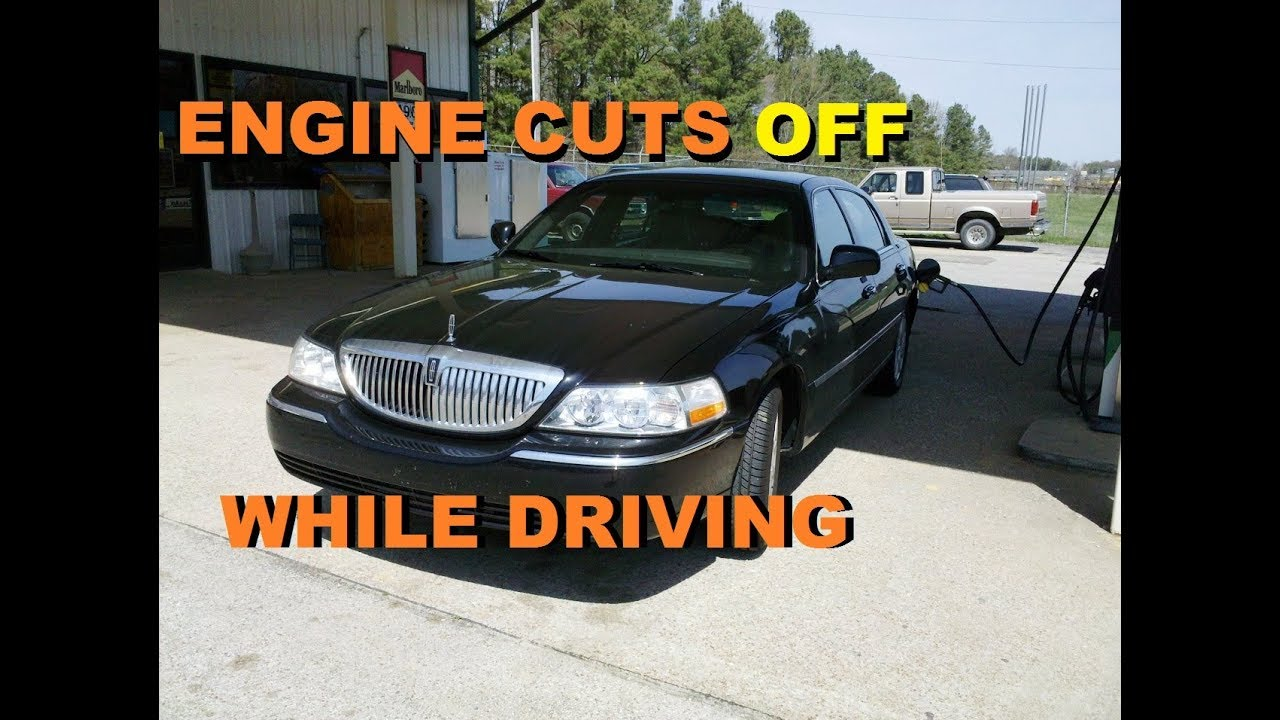 medium resolution of lincoln town car cuts off while driving part 1