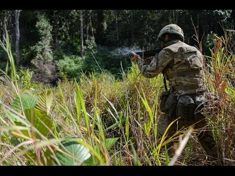 Brunei Jungle Warfare Training Ex