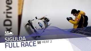 Sigulda | BMW IBSF World Cup 2018/2019 - Women's Bobsleigh Heat 2 | IBSF Official