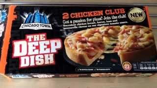 Chicago Town Chicken Club Deep Dish Pizza Review