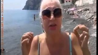 Российская туристка назвала безобразной организацию отдыха в оккупированном Россией Крыму Июнь2015(Я всю жизнь здесь отдыхаю, но такого безобразия никогда не было