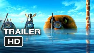 Madagascar 3 Official Trailer #1 (2012) HD