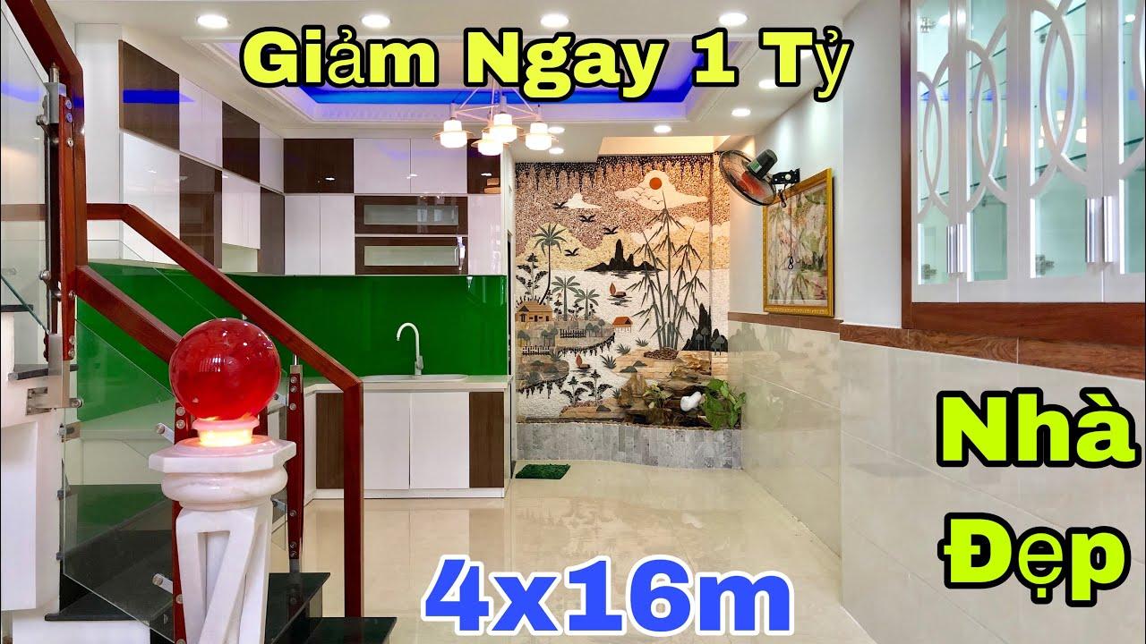 Bán nhà Gò Vấp   Đại hạ giá căn nhà đẹp 4x16m tại đường Quang Trung Phường 8   giá rẻ 5.5 tỷ