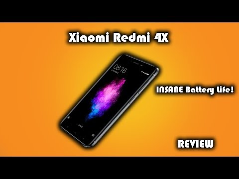 Xiaomi Redmi 4X Review • Amazing Battery Life • Best Budget Phone Of 2017?