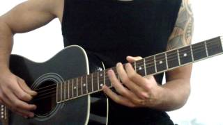 Mr Probz - Waves (Acoustic Guitar Cover)