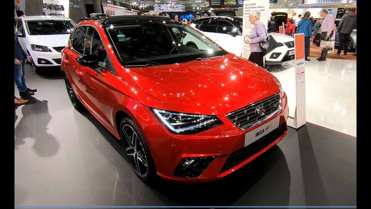 seat ibiza fr line new model 2018 red colour 5 door walkaround interior youtube. Black Bedroom Furniture Sets. Home Design Ideas