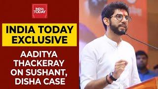 Maharashtra Minister Aaditya Thackeray Speaks About Sushant Singh Rajput & Disha Salian's Death Case