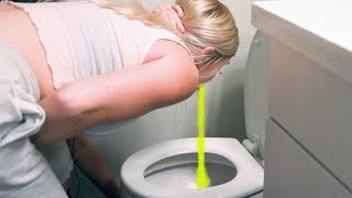 girls pee out of their mouths