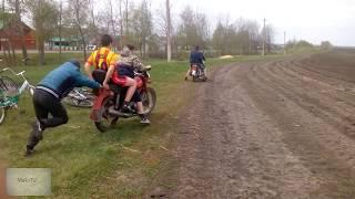 Гонка Мопед Racer vs Минск   Как можно Заработать на Автопилоте