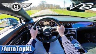 2021 Bentley Flying Spur V8 POV Test Drive by AutoTopNL