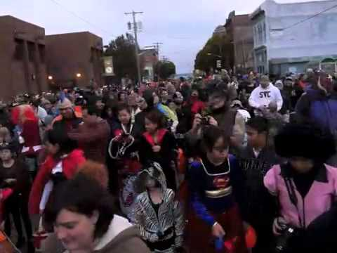 Halloween Parade 2012 In Port Townsend Wa Youtube