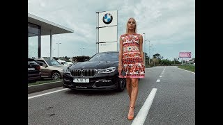 BMW ALPINA B7 (2017-2018) обзор, сравнение с BMW M760, тест-драйв от Елены Добровольской