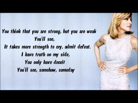 Free download lagu Madonna - You'll See Karaoke / Instrumental with lyrics on screen di ZingLagu.Com