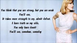 Madonna - You'll See Karaoke / Instrumental with lyrics on screen