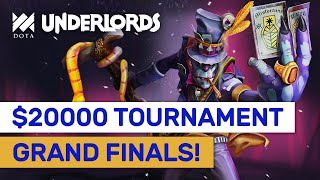 GRAND FINAL Highlights! $20000 Dota Underlords Tournament! #Sponsored