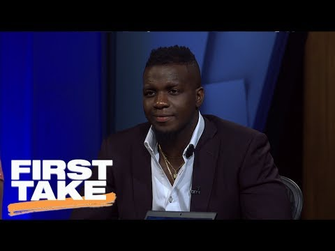 Falcons' Mohamed Sanu Joins First Take | First Take | June 29, 2017