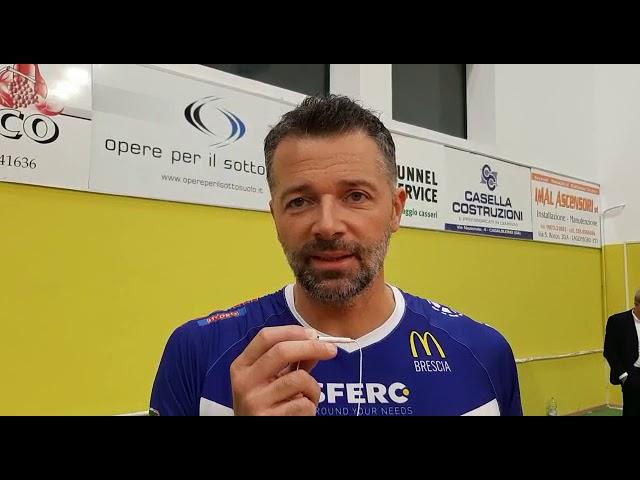 Alberto Cisolla dopo la terza vittoria stagionale