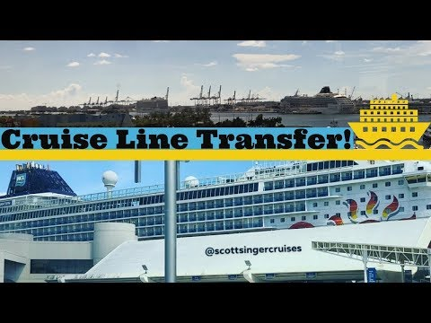 Fort Lauderdale to Miami Cruise Port Transfer l CRUISE VLOG