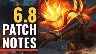 Patch Notes 6.8 - Taric Rework!