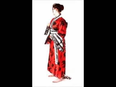 Grafik & grafok - Kimono debout