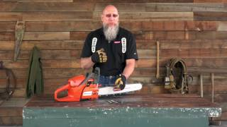 Technical Tips- How To Sharpen Chainsaw Chain