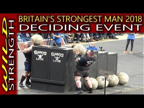 Eddie Hall Wins Britain's Strongest Man 2018