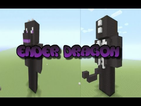 Full Download Minecraft Tutorial Ender Dragon Statue