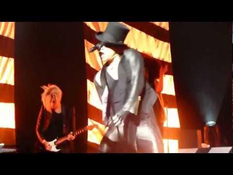 Adam Lambert - For Your Entertainment & Fever - Singapore, 8 March'13
