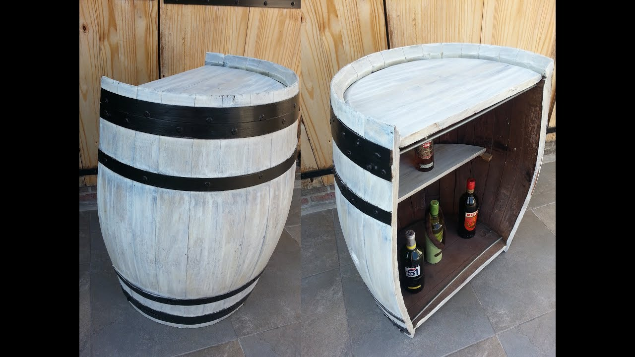 Transformer Un Tonneau En Bar how to turn a barrel into a bar ?