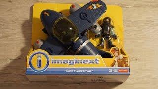 Обзор игрушки самолет Fisher Price Imaginext T5310 Twister Jet