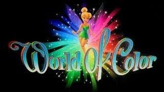 Disney at Dark: World of Color Full Show w/ Brave Segment HD POV at Disney California Adventure