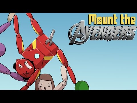 """Mount the Avengers!   """"Best.  Match.  Ever."""" (w/ H2O Delirious)"""