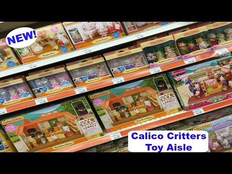 NEW Calico Critters At ToysRUs