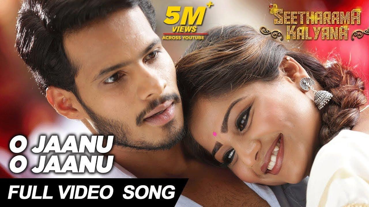 Download O Jaanu O Jaanu Full Video Song - Seetharama Kalyana | Nikhil Kumar, Rachita Ram | Sanjith Hegde