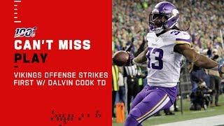 Cousins & Diggs Are Cook-ing Ham Early! Vikings Roast Seattle on 1st Drive