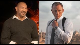 Dave Bautista Reveals Who He Thinks Should Be The Next James Bond